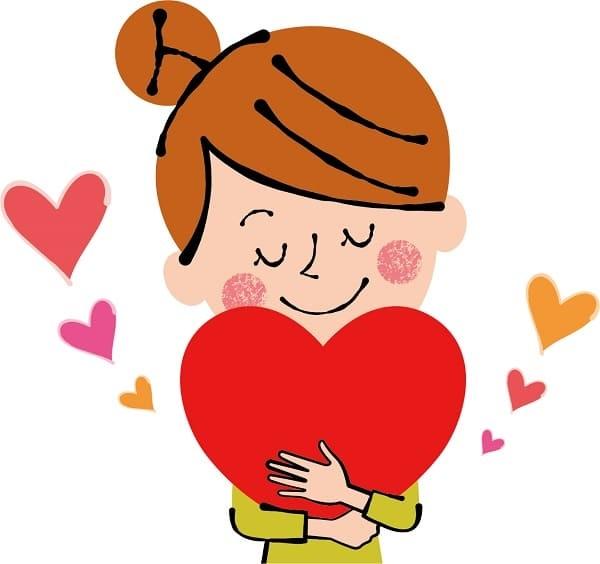 ストレスニキビを減らすための愛情ホルモン